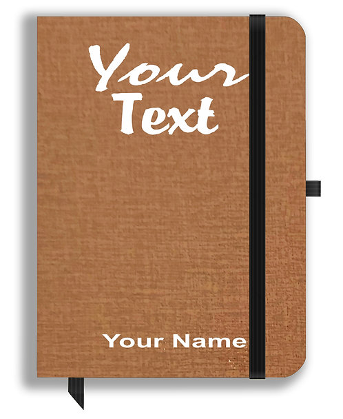Personalized Leather NoteBook / Diary (NBLTHR 001-10)