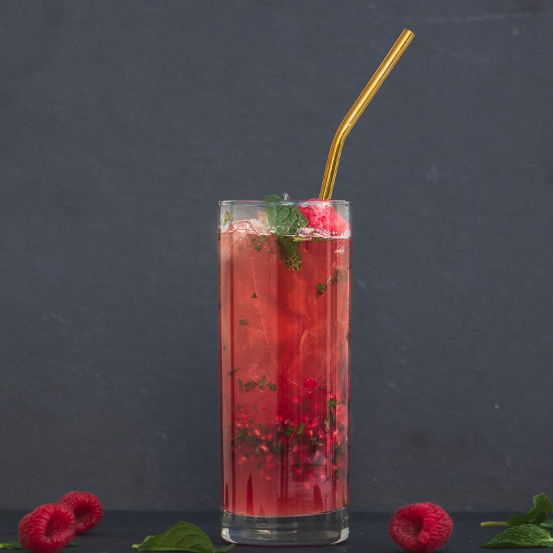 Mojito au kombucha - Cocktail - Les Chants du fleuve kombucha