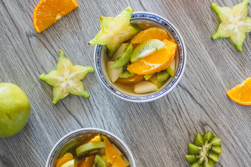 Salade de fruits au kombucha - Recette - Les Chants du Fleuve Kombucha