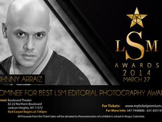 Johnny Arráiz nominado en New York como mejor fotógrafo.