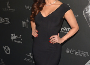 ADRIANA CATAÑO BRILLO EN EL EVENTO DE LATIN SONGWRITERS HALL OF FAME