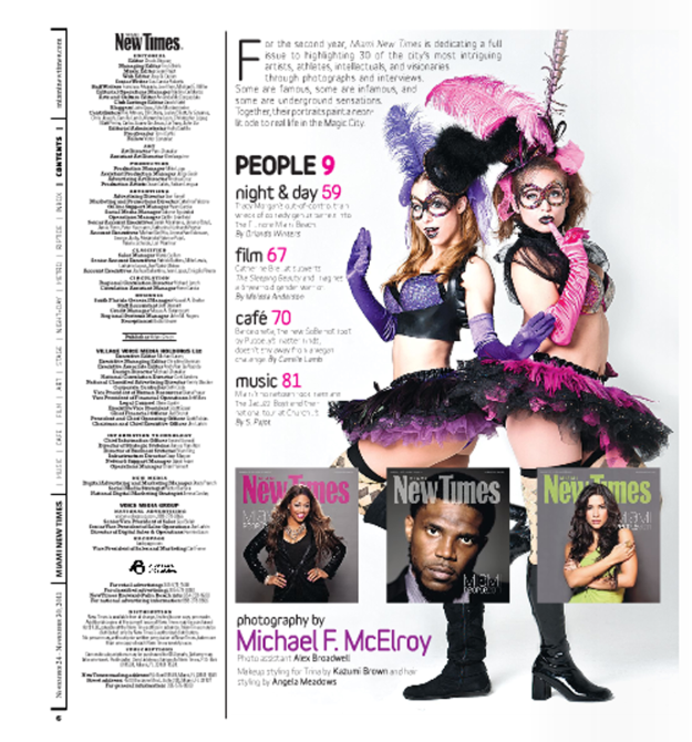 MIAMI PEOPLE ISSUE- 2011