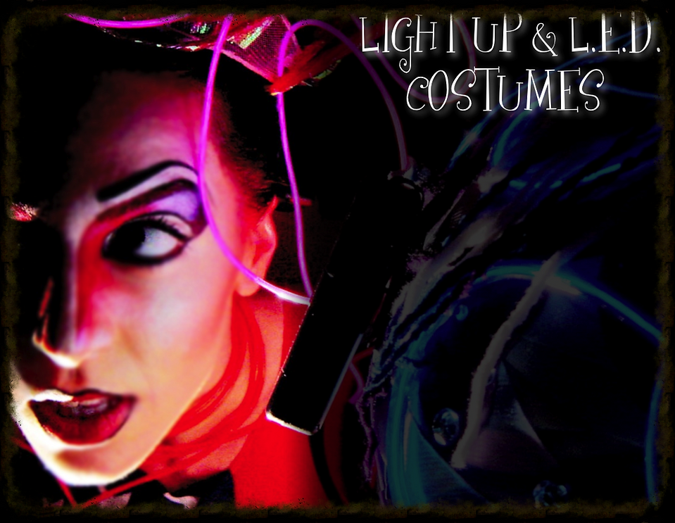 Light Up Costumes L.E.D. costumes