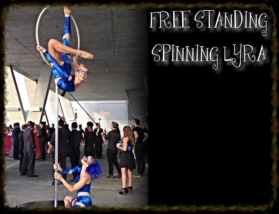 Lollipop Lyra  Free Standing Lyra