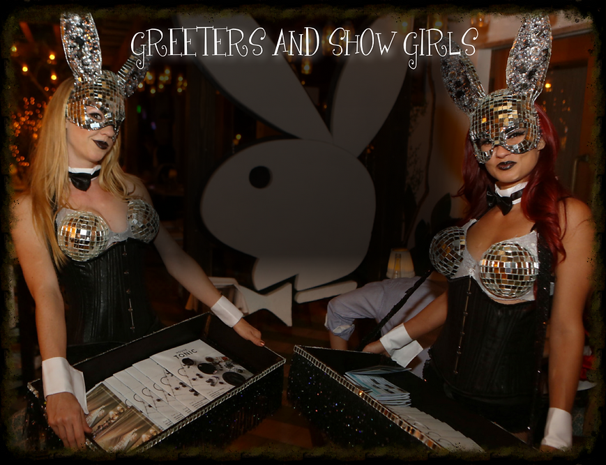 Playboy Bunnies Disco Greeters