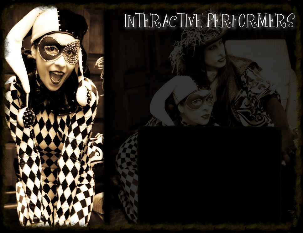 Mime Clown Harlequin