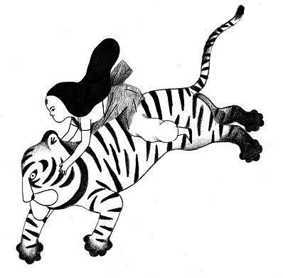 fille et tigre volant.jpg