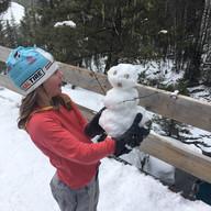Olafs Away by Kelly Comishin