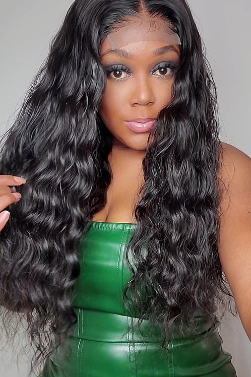 """READY TO SHIP Loose Wave Closure Unit 24"""""""