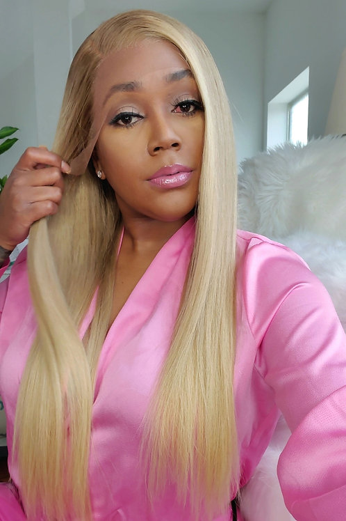 """READY TO SHIP Ash Blonde Ombre Lace Frontal Unit 22"""""""