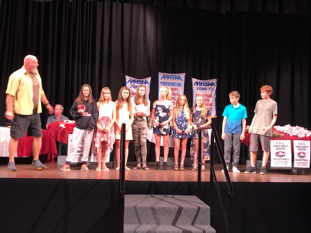 Grade 7 Participation Point recipients