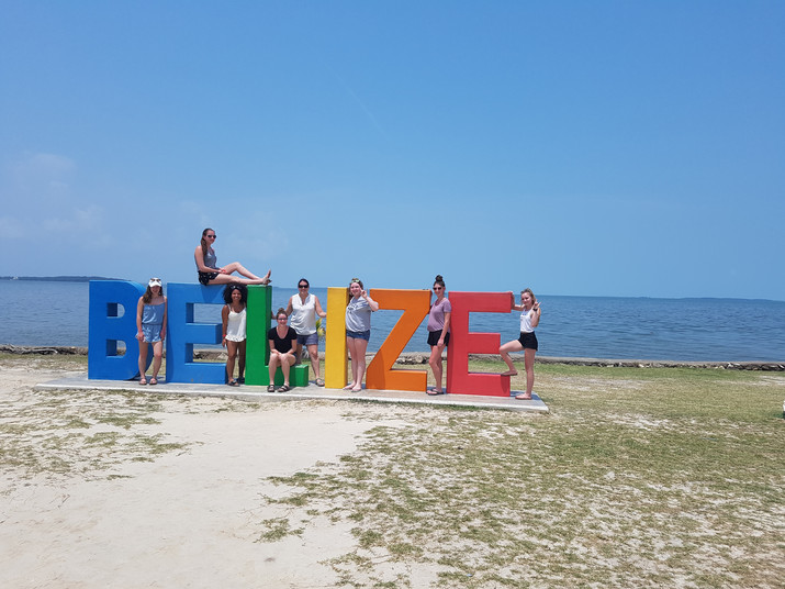 PSS TRAVEL CLUB BACK FROM BELIZE