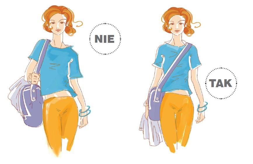jak nosić torbę na jedno ramię