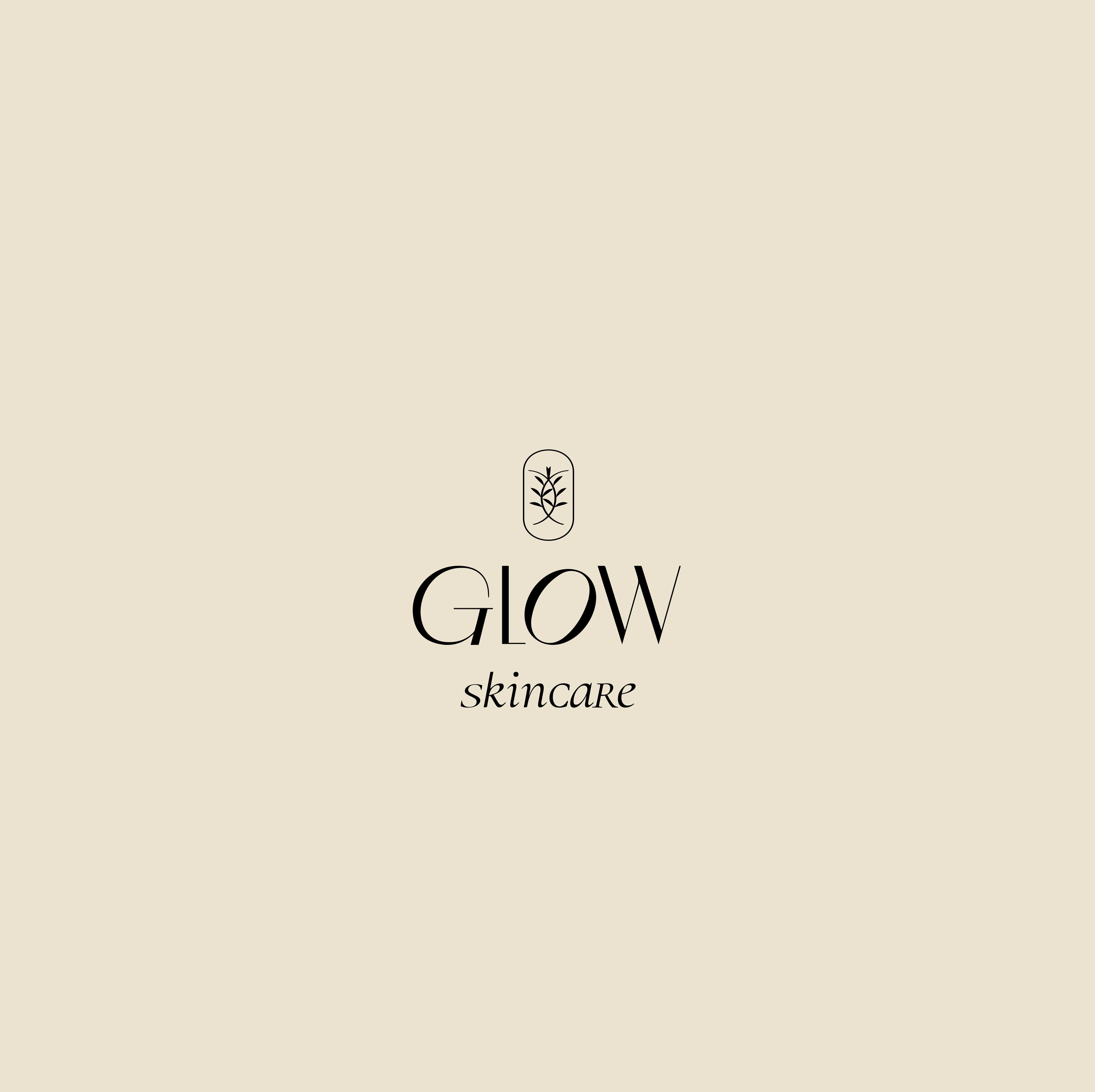 Glow skincare logo