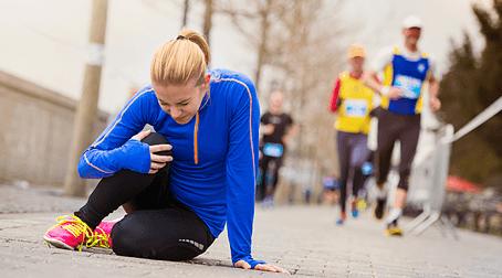 5 sposobów na uniknięcie kontuzji podczas biegania