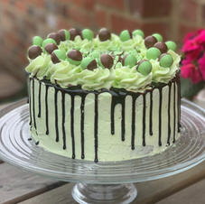 Mint Chocolate Aero Cake