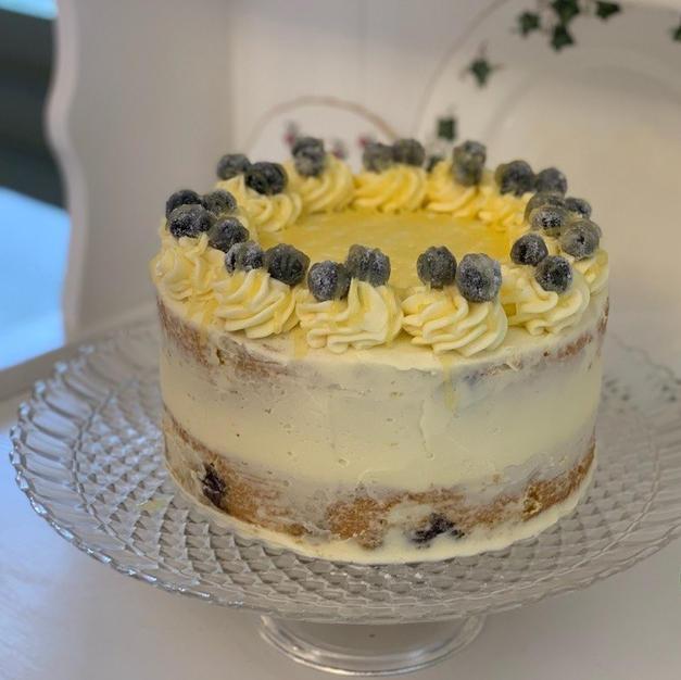 Lemon & Blueberry Cake