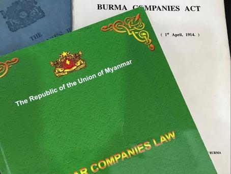 Myanmar Companies Law re-registration deadline