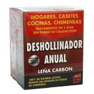 PQS DESHOLLINADOR ANUAL MADERA Y CARBON 3x250 g