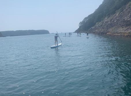 Taking a long walk on the Ocean