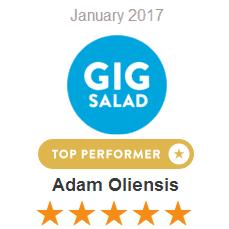 Gigsalad January 2017 Top Performer 2