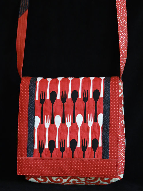 Spoons and Forks Purse by Martha Ingols