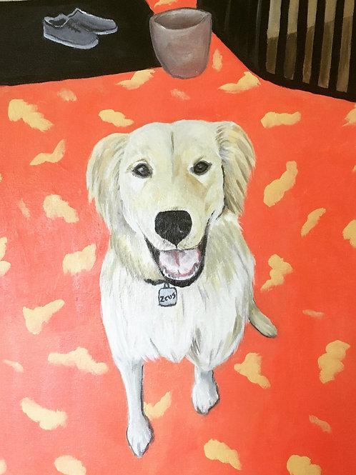 Custom Pet Portrait (Medium) by Freya Emily Jackson