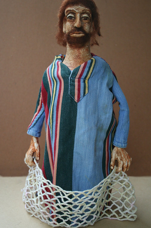 The Fisherman (Apostle Andrew) by Anastasia Semash Art Studio