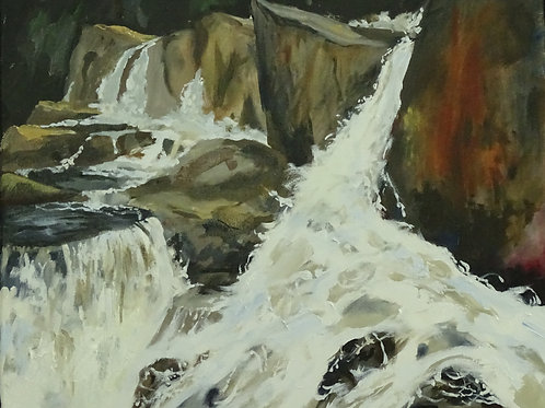 Smalls Falls by Richard McElroy