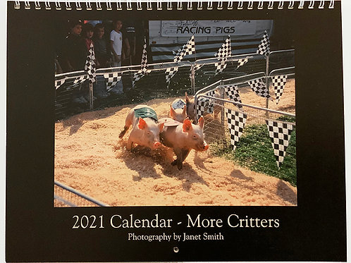 2021 Calendar - More Critters by Janet Smith Photography