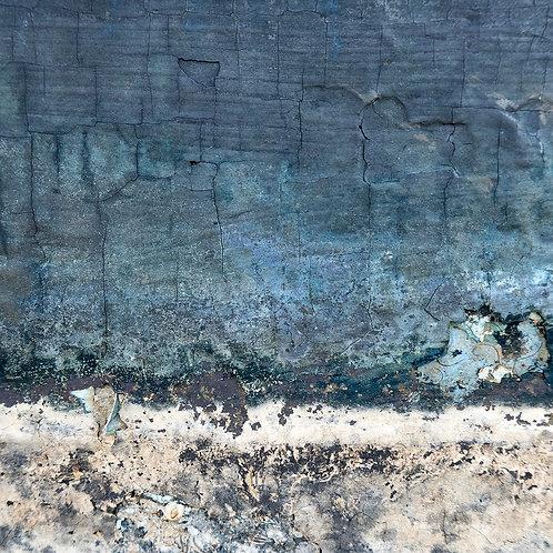 Blue Seawall (Wellfleet MA) by Janet Smith Photography