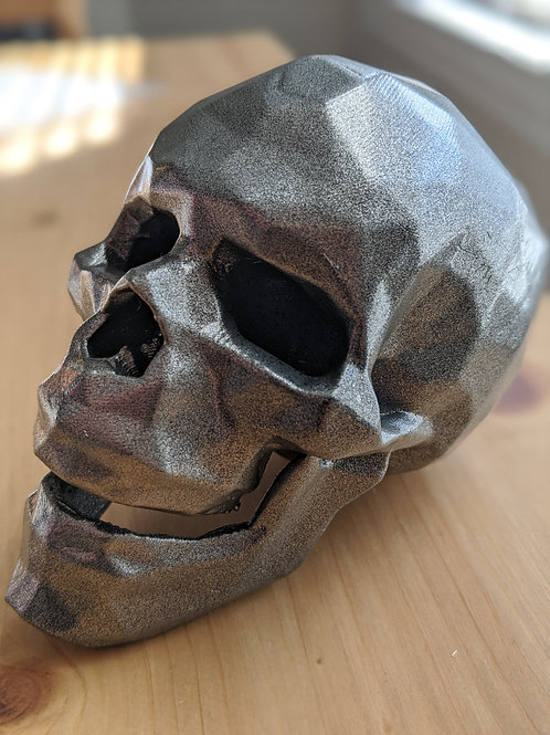 Poly Skull by Lee Williamson