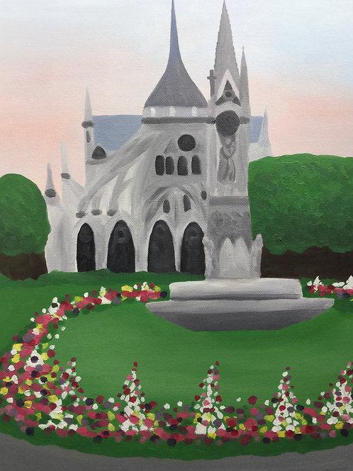 Notre Dame by Miranda Vitello