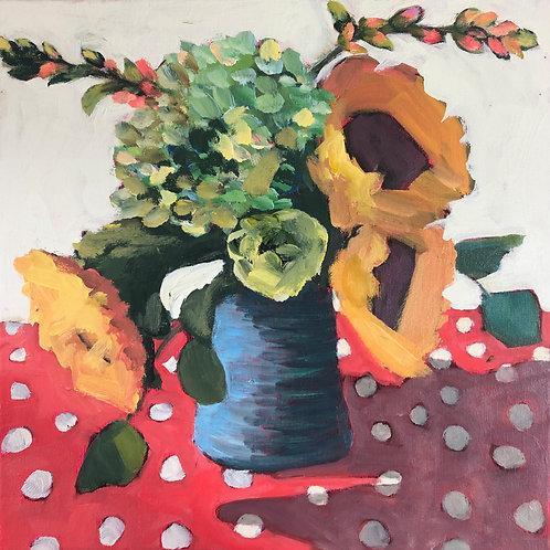 Sunflowers by J. Pullman Art