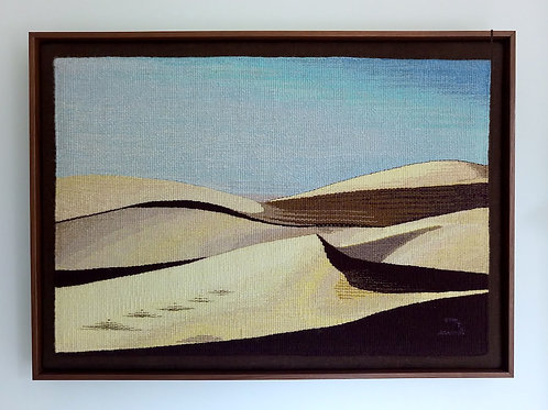 Sand Dunes by Minna Rothman Tapestries
