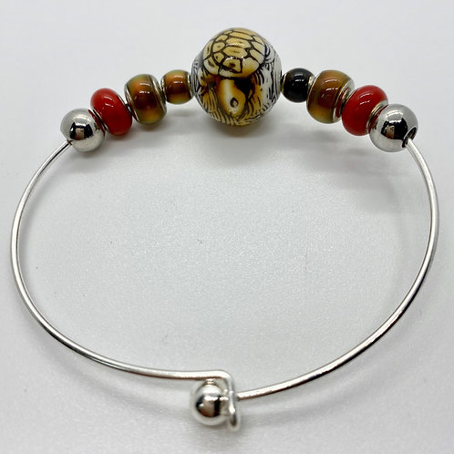 Turtle-Island Mirage Bracelet by Beads by Beardslee