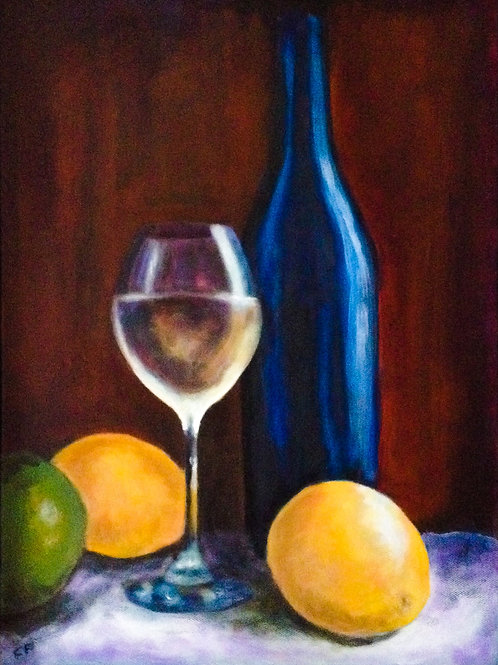 summer wine by Claire Forrest - Artist