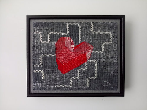 Mending Heart by Minna Rothman Tapestries
