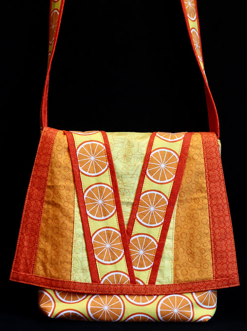 Orange Slices Purse by Martha Ingols