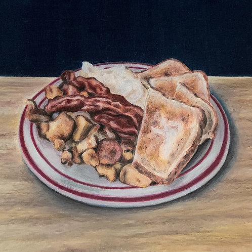 diner food by Claire Forrest - Artist
