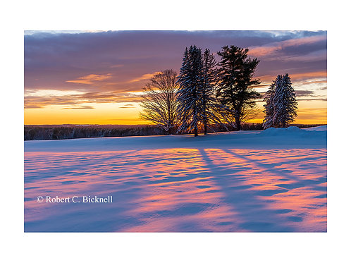 Surrenden Farm Sunset  by Robert Bicknell Photography