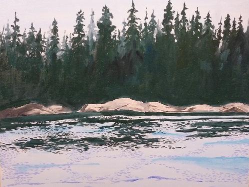 Harbor Island by Richard McElroy
