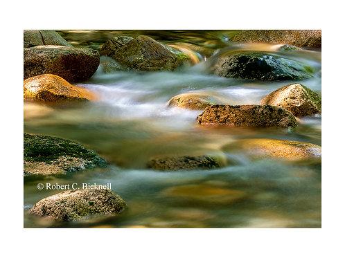 Sabbaday Brook  by Robert Bicknell Photography