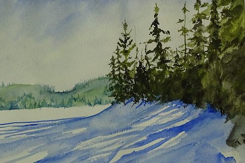 Winter Shadows by Richard McElroy