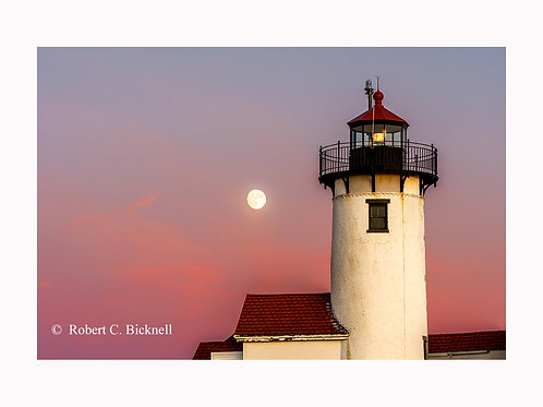 Twilight Moon  by Robert Bicknell Photography