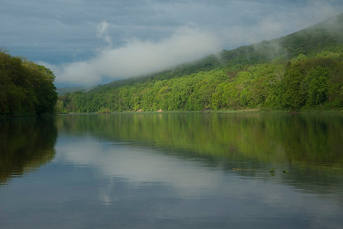Delaware River in Mist by Roy Crystal, Photographer