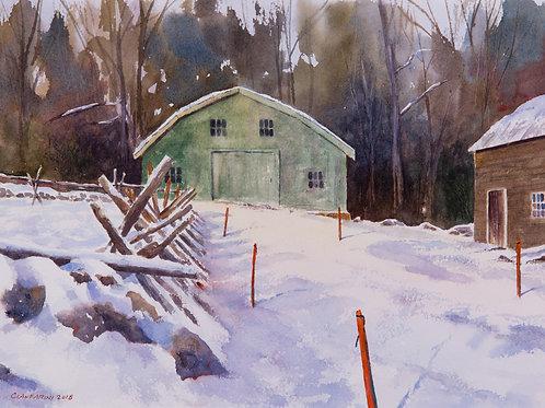 Winter's Stakes (Hartwell Tavern) by Dan Cianfarini