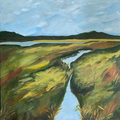 Great Marsh 2 by Eliza Burden