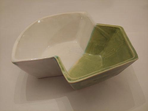 Angular Serving Bowl #2 by Alyssa Murray
