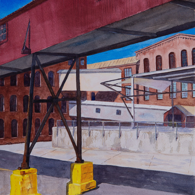 Channeling Charles Sheeler at MassMoCA by Dan Cianfarini
